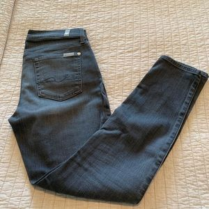 7 For All Mankind Gray Gwenevere Jean